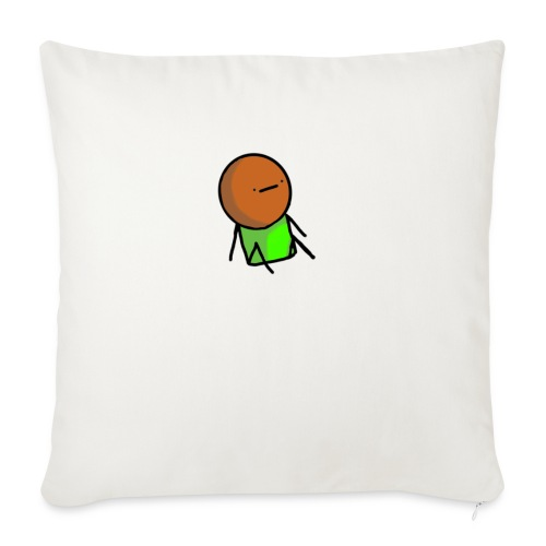 "pep* - Throw Pillow Cover 18"" x 18"""
