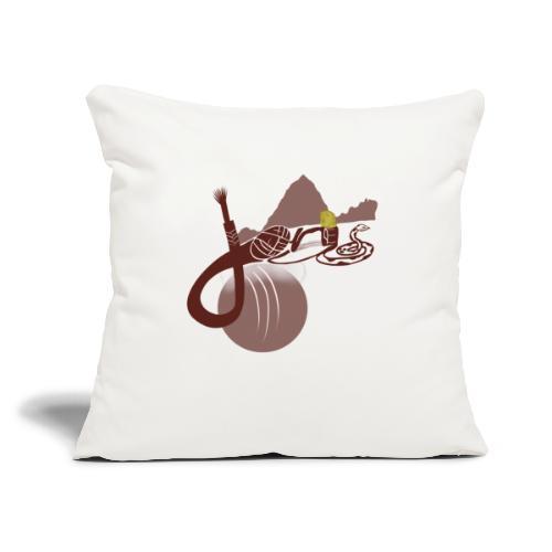 "Jones - Throw Pillow Cover 17.5"" x 17.5"""