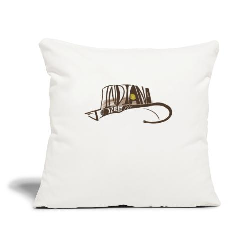 """Wear The Hat - Throw Pillow Cover 17.5"""" x 17.5"""""""