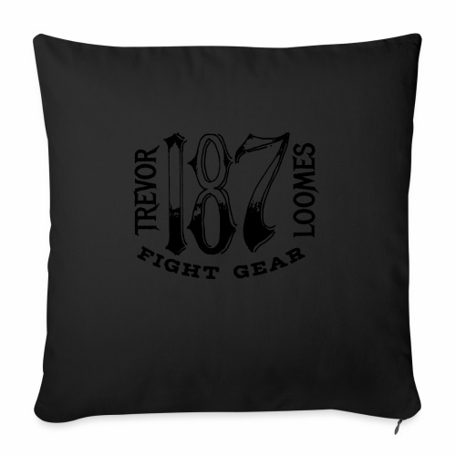 "Trevor Loomes 187 Fight Gear Street Wear Logo - Throw Pillow Cover 18"" x 18"""