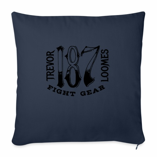 "Trevor Loomes 187 Fight Gear Street Wear Logo - Throw Pillow Cover 18"" x 18"""