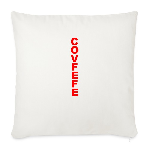 """Covfefe - Throw Pillow Cover 18"""" x 18"""""""