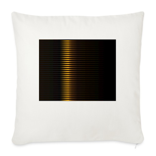 "Gold Color Best Merch ExtremeRapp - Throw Pillow Cover 17.5"" x 17.5"""
