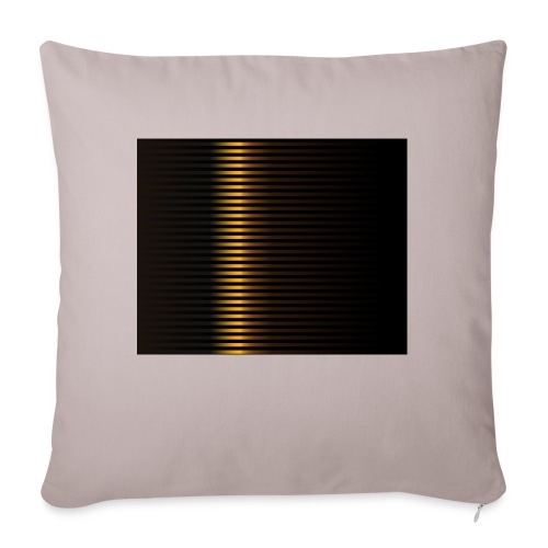 "Gold Color Best Merch ExtremeRapp - Throw Pillow Cover 18"" x 18"""