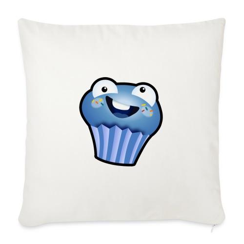 """הלוגו של מאפין - Throw Pillow Cover 18"""" x 18"""""""