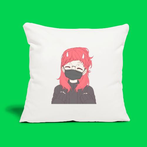 """mei yay - Throw Pillow Cover 18"""" x 18"""""""