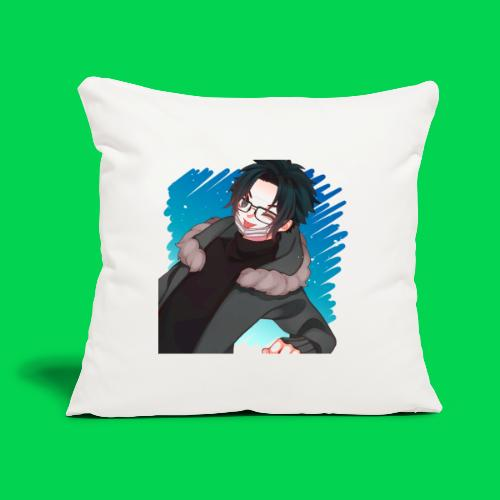 """Mr no name guy. - Throw Pillow Cover 18"""" x 18"""""""