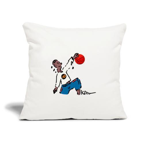 "Basketball - Throw Pillow Cover 17.5"" x 17.5"""