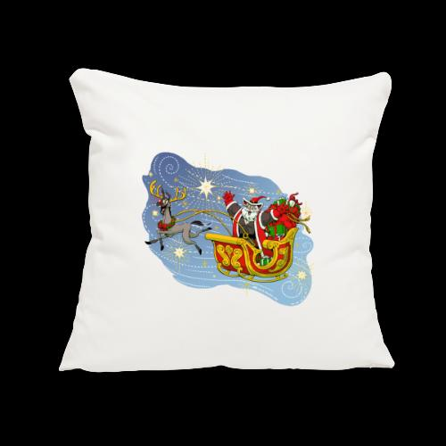 "Christmas 2020 Ranger Dentface - Throw Pillow Cover 17.5"" x 17.5"""