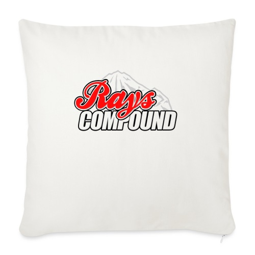 """Rays Compound - Throw Pillow Cover 17.5"""" x 17.5"""""""