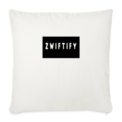 "zwiftify - Throw Pillow Cover 18"" x 18"""