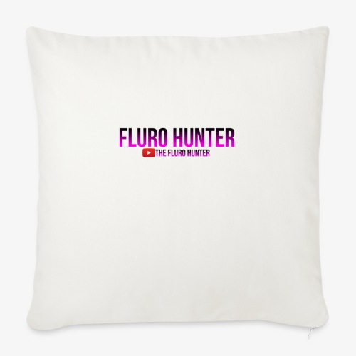 """The Fluro Hunter Black And Purple Gradient - Throw Pillow Cover 18"""" x 18"""""""