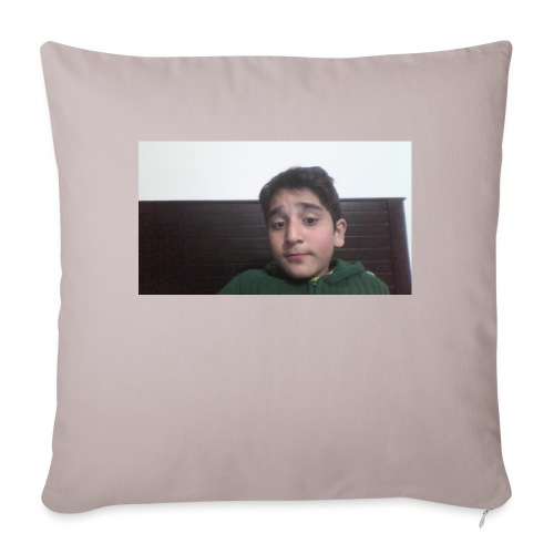 """Dont Think Just BUY - Throw Pillow Cover 18"""" x 18"""""""