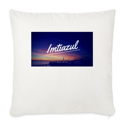 "Copy of imtiazul - Throw Pillow Cover 18"" x 18"""