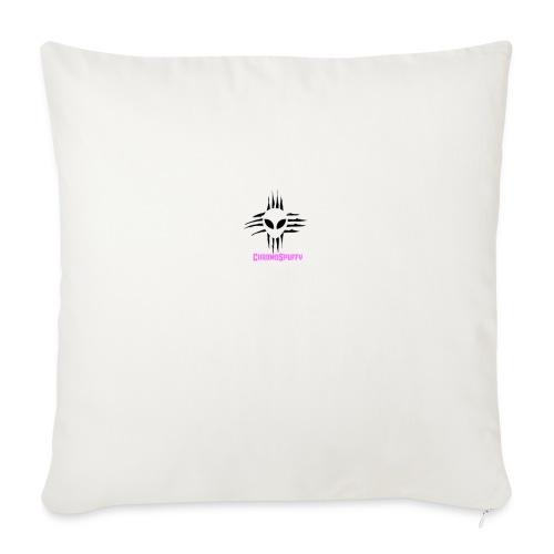 "ChromoSpuffy Merch - Throw Pillow Cover 18"" x 18"""