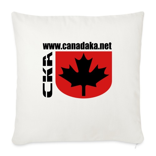 """CKA Back 2 - Throw Pillow Cover 17.5"""" x 17.5"""""""