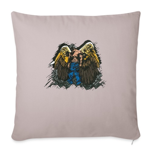 "Angel - Throw Pillow Cover 18"" x 18"""