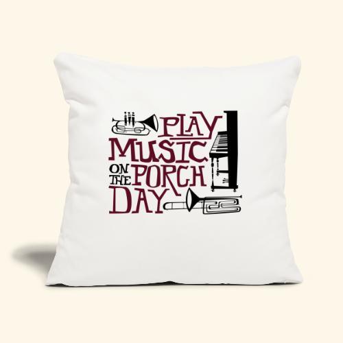 """Horns - Throw Pillow Cover 17.5"""" x 17.5"""""""