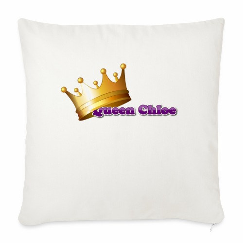 "Queen Chloe - Throw Pillow Cover 18"" x 18"""