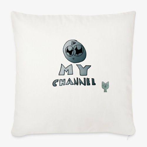 """My Channel Cute - Throw Pillow Cover 18"""" x 18"""""""