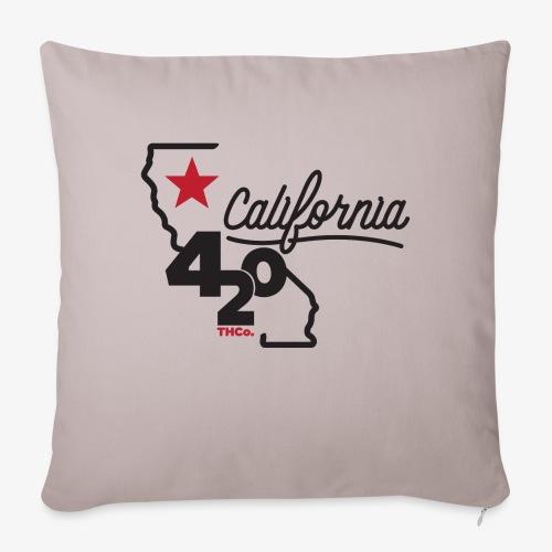 """California 420 - Throw Pillow Cover 17.5"""" x 17.5"""""""