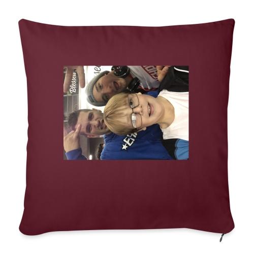 """Me with raka raka - Throw Pillow Cover 17.5"""" x 17.5"""""""