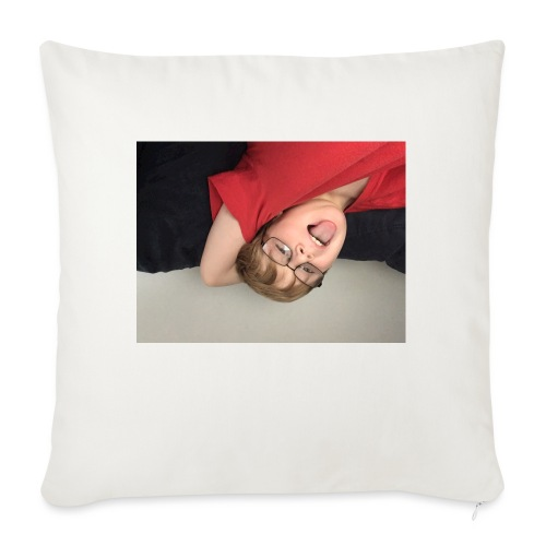 "Me - Throw Pillow Cover 17.5"" x 17.5"""