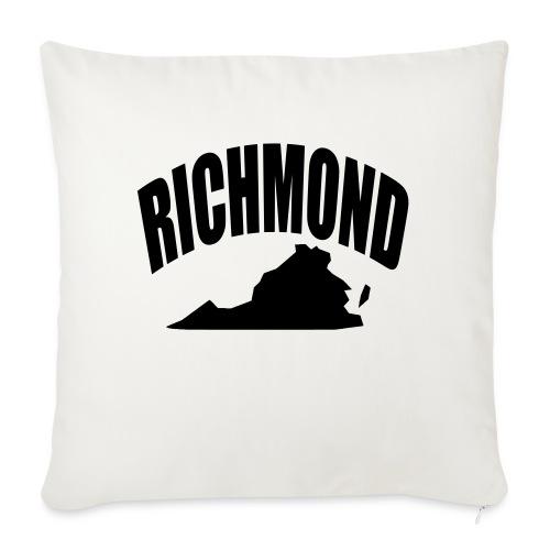 "RICHMOND - Throw Pillow Cover 18"" x 18"""