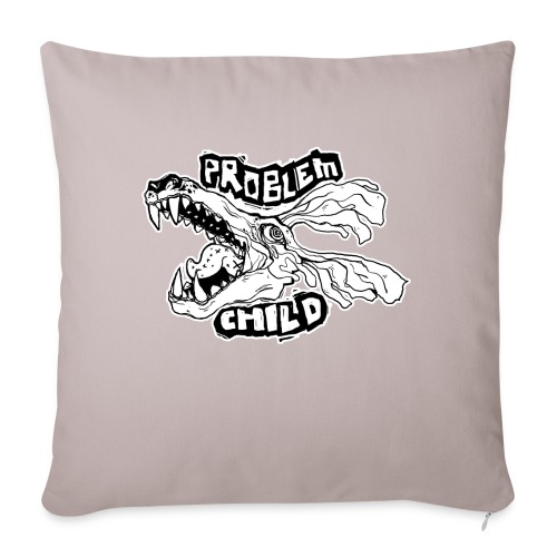 """PROBLEM CHILD - Throw Pillow Cover 18"""" x 18"""""""