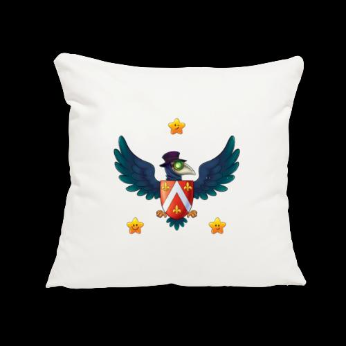 """YOUR BABY PIRATE'S FIRST COAT OF ARMS! - Throw Pillow Cover 17.5"""" x 17.5"""""""