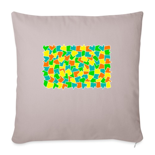 """Dynamic movement - Throw Pillow Cover 18"""" x 18"""""""