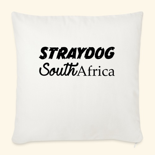 "straydog clothing - Throw Pillow Cover 18"" x 18"""