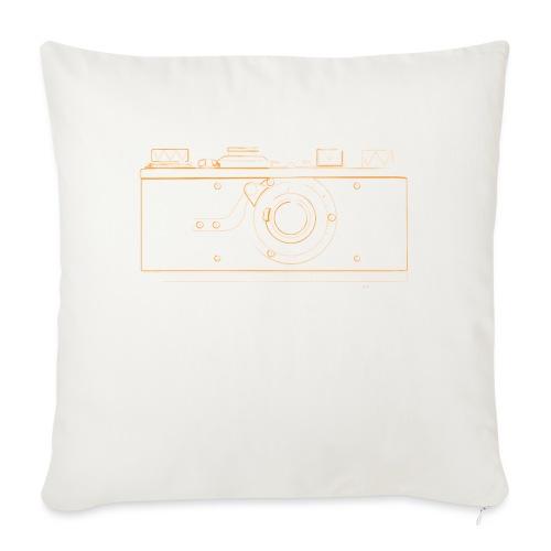 "GAS - Leica M1 - Throw Pillow Cover 18"" x 18"""