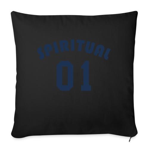 "Spiritual One - Throw Pillow Cover 18"" x 18"""