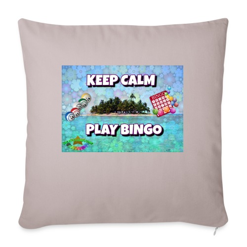 """SELL1 - Throw Pillow Cover 18"""" x 18"""""""
