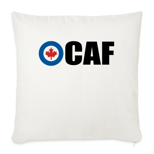 """Canadian Air Force - Throw Pillow Cover 17.5"""" x 17.5"""""""