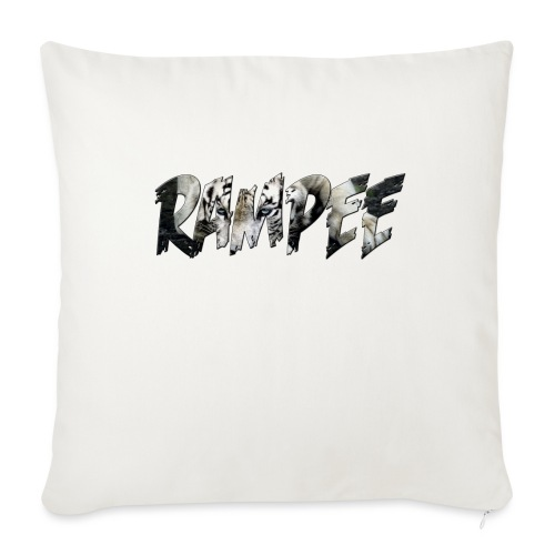 """Rampee - Throw Pillow Cover 17.5"""" x 17.5"""""""