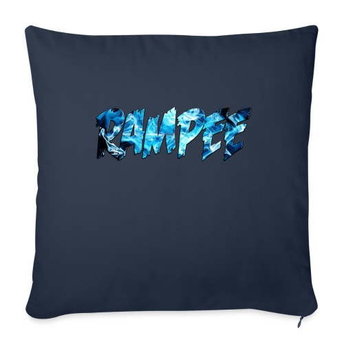 """Blue Ice - Throw Pillow Cover 18"""" x 18"""""""