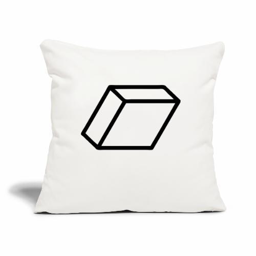 """rhombus3 ai - Throw Pillow Cover 17.5"""" x 17.5"""""""