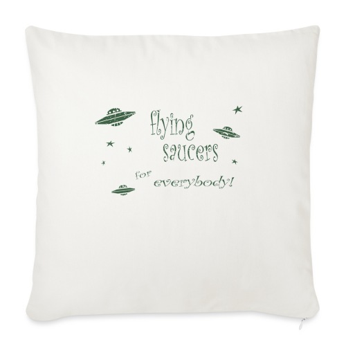 """CE3_-_Flying_Saucers - Throw Pillow Cover 17.5"""" x 17.5"""""""