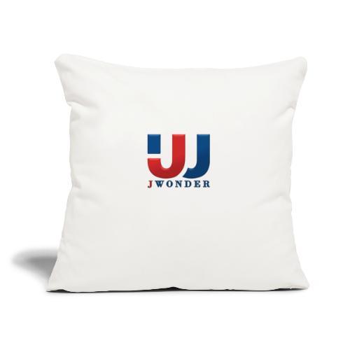 "jwonder brand - Throw Pillow Cover 18"" x 18"""
