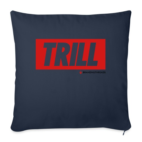 """trill red iphone - Throw Pillow Cover 17.5"""" x 17.5"""""""