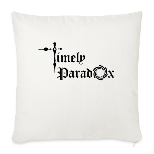 """Timely Paradox - Throw Pillow Cover 18"""" x 18"""""""
