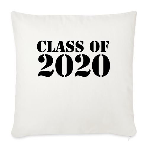 """Class of 2020 - Throw Pillow Cover 17.5"""" x 17.5"""""""