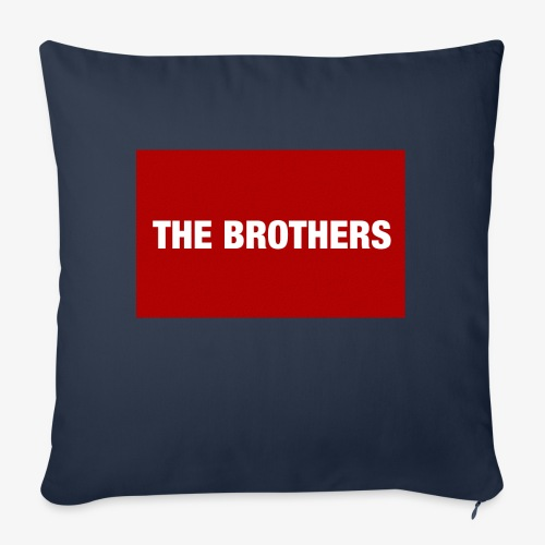 """The Brothers - Throw Pillow Cover 18"""" x 18"""""""