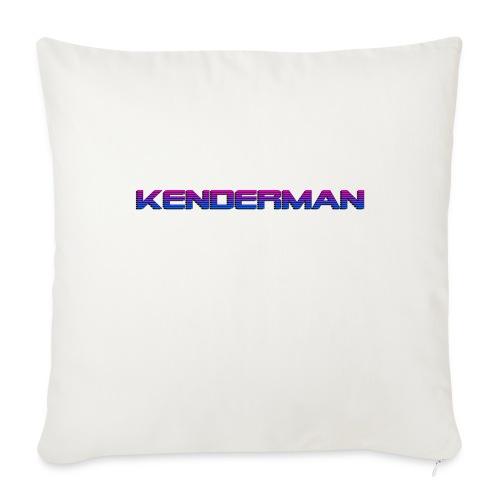 """Kendermerch - Throw Pillow Cover 17.5"""" x 17.5"""""""