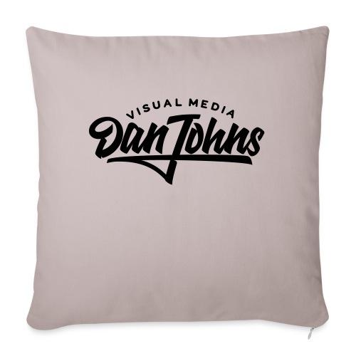 "Dan Johns Visual Media - Throw Pillow Cover 17.5"" x 17.5"""