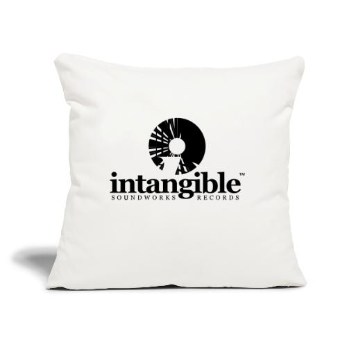 """Intangible Soundworks - Throw Pillow Cover 17.5"""" x 17.5"""""""