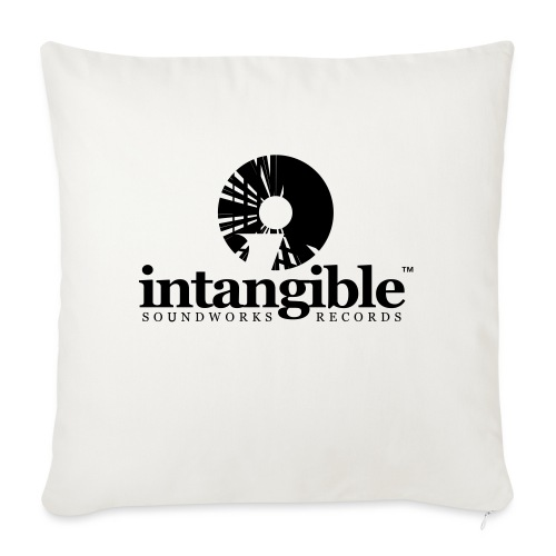 "Intangible Soundworks - Throw Pillow Cover 18"" x 18"""
