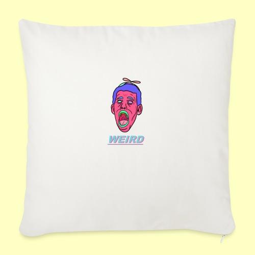 """WEIRD - Throw Pillow Cover 18"""" x 18"""""""